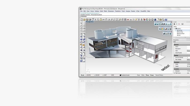 Visualarq un software di architettura completamente for Software architettura 3d